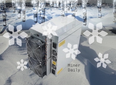 Antminer S19 Safety Mode Cold Temperature