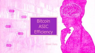 ASIC efficiency and energy use 2021. Moore's Law and bitcoin mining.