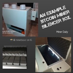 How to be a bitcoin miner. Bitcoin ASIC silencer box. Home miners can use these to dampen noise and direct heat away from mining rigs.